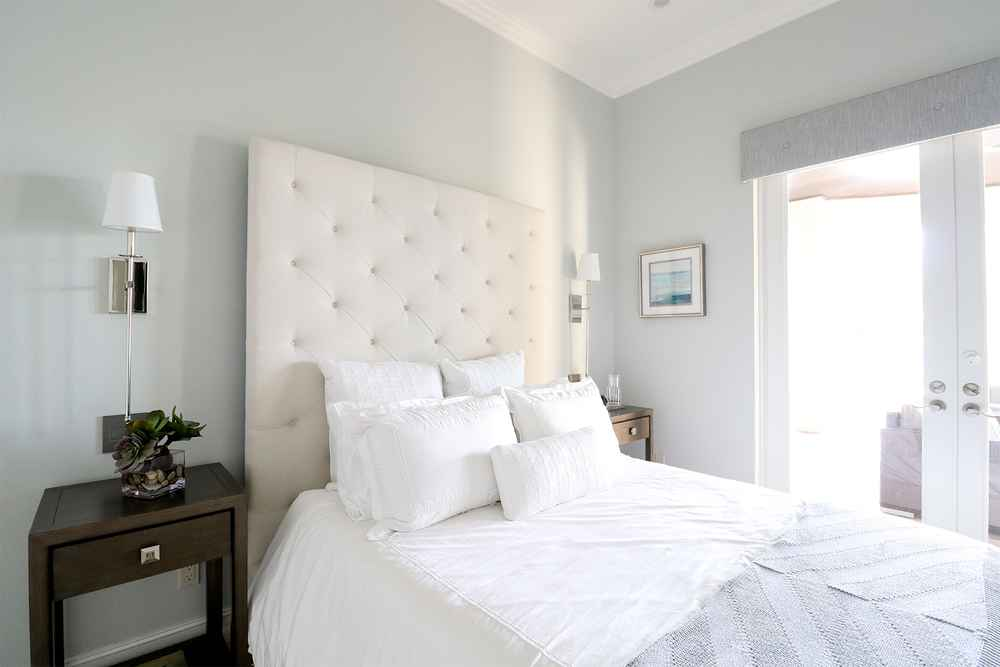 Kathryn Interiors Design - Master Bedroom with View in Miami